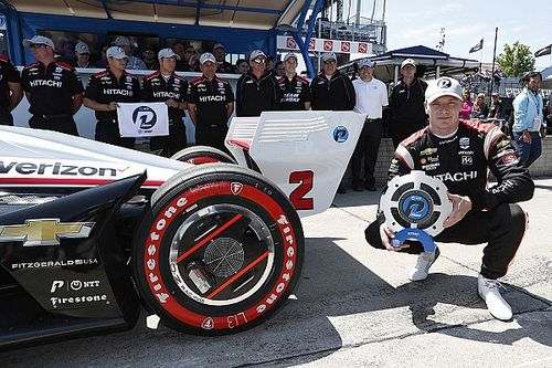 Detroit IndyCar: Newgarden, Rossi on front row for Race 2