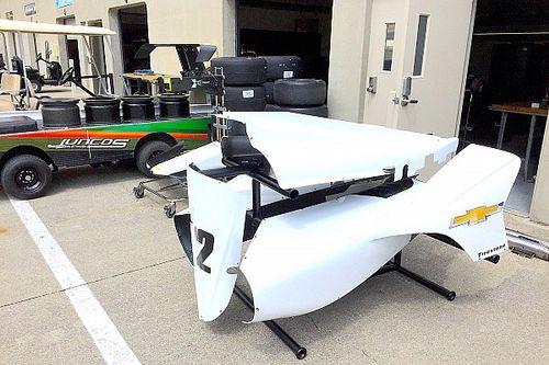 La marcha de patrocinadores deja a Juncos en el limbo de la Indy 500