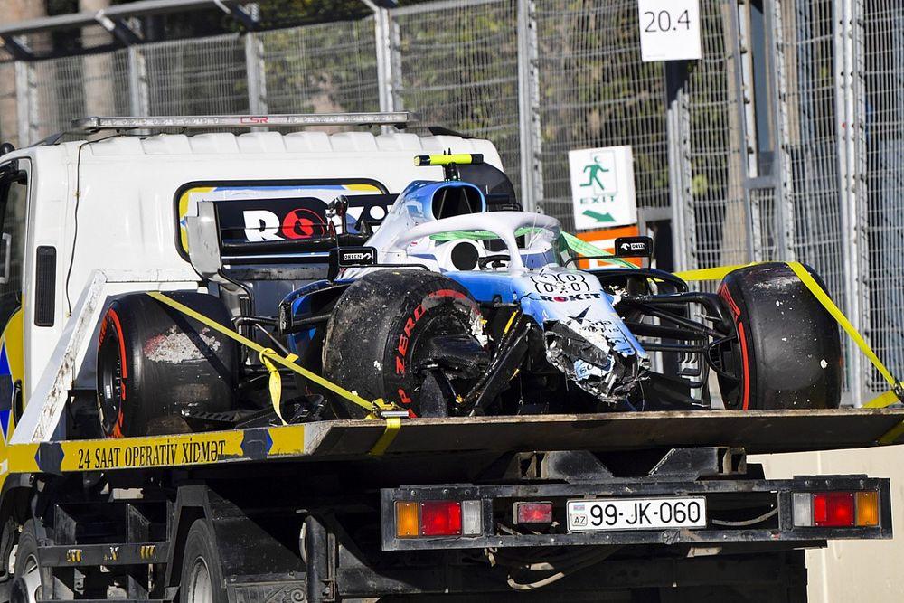 Williams choisit de faire partir Kubica des stands