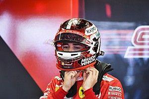 Leclerc, con dudas sobre la estrategia de Ferrari en Bakú