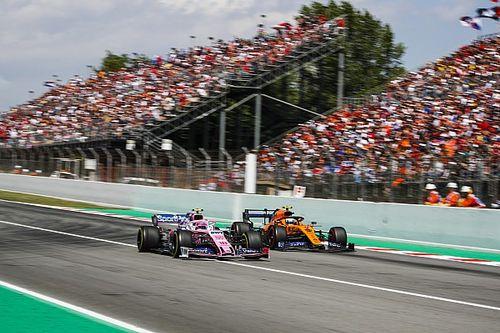 VÍDEO: Veja batida entre Stroll e Norris no GP da Espanha de F1