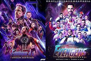 "La F1 y la Fórmula E se ""visten"" de Avengers"