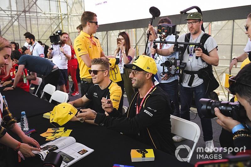 A Renault-nak nagyon nem fekszik Baku, de Hülkenberg és Ricciardo is bizakodó