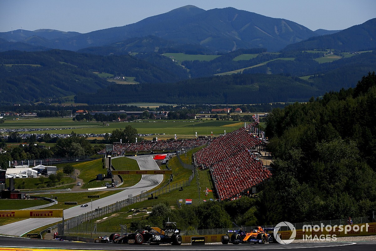F1 outlines 'biosphere' plan to get season underway