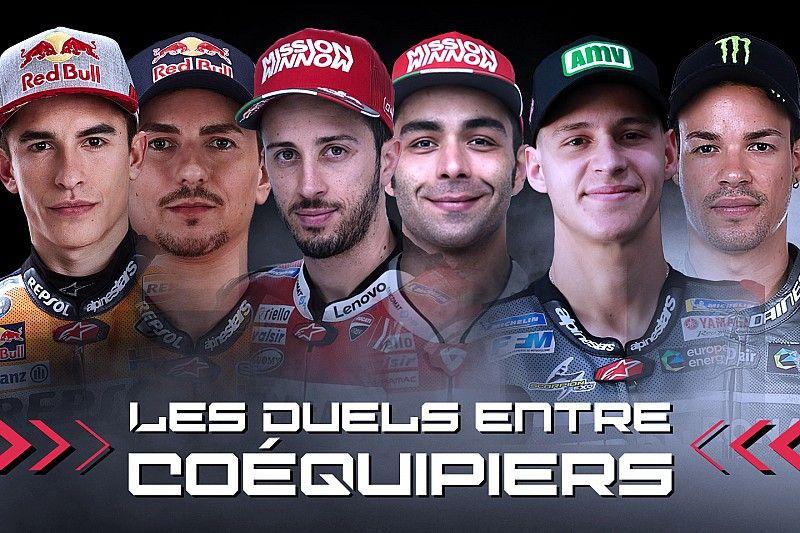 Les duels entre coéquipiers après le GP de France
