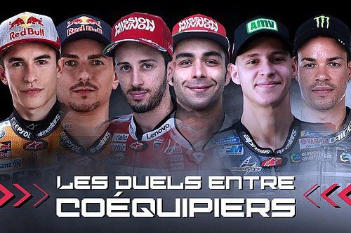 Les duels entre coéquipiers MotoGP en 2019