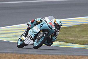Ramírez gana una caótica carrera de Moto3