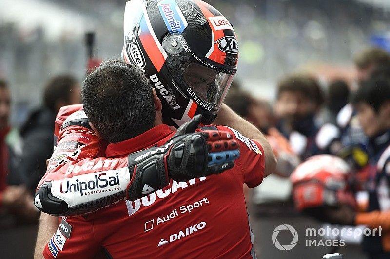 Soulagement et premier podium en rouge pour Danilo Petrucci