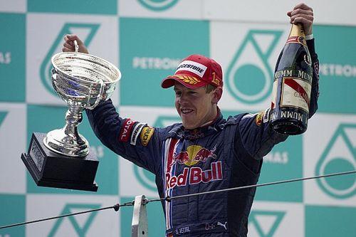 Hace 10 años Vettel ganó la primera victoria de Red Bull
