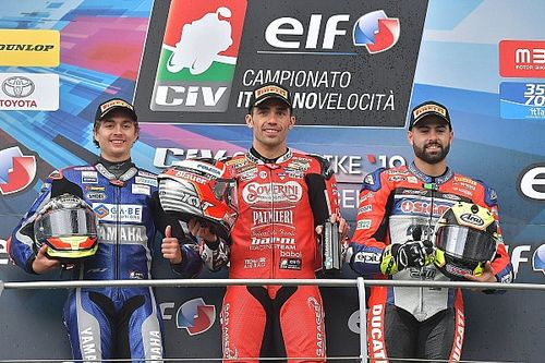 CIV SBK, Pirro domina al Mugello con la Ducati Panigale V4 R
