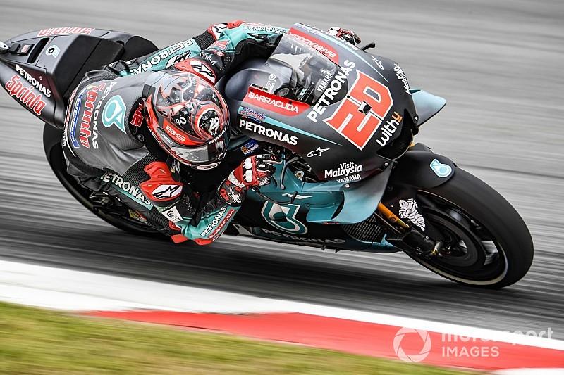 Barcelona MotoGP: Quartararo tops FP2 from Dovizioso
