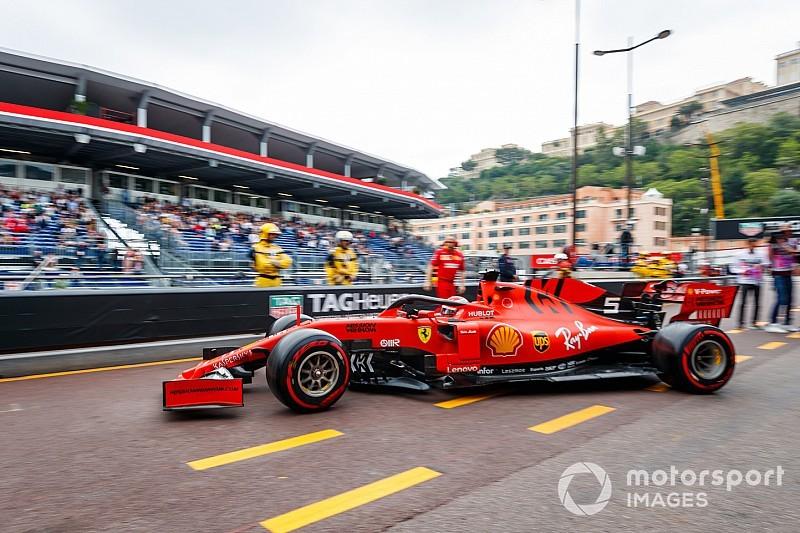 """Vettel, pit yolundaki Bottas/Verstappen olayında """"endişelenmiş"""""""