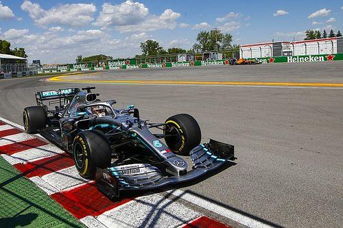 Hamilton: dopo il botto si sostituisce tutto il retrotreno della Mercedes!