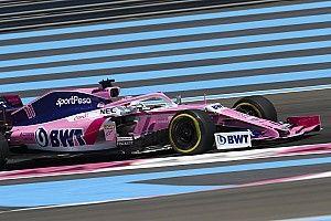 Pérez abasourdi par sa pénalité sur le GP de France