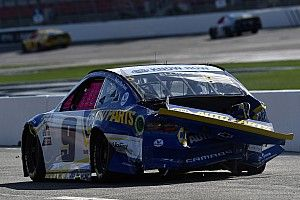Elliott wishes Harvick a 'merry offseason' after Roval run-in