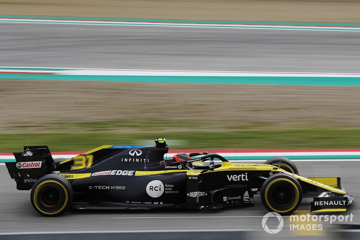 Ocon: Renault 'verdient' derde plek in constructeurskampioenschap
