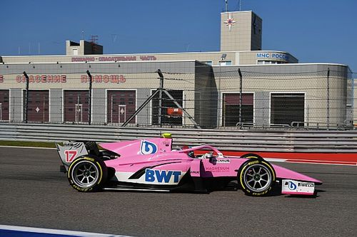 Hughes makes F2 return at Monza to replace injured Aitken