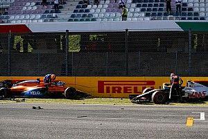 Las fotos del brutal accidente de Mugello y el enfado de los pilotos