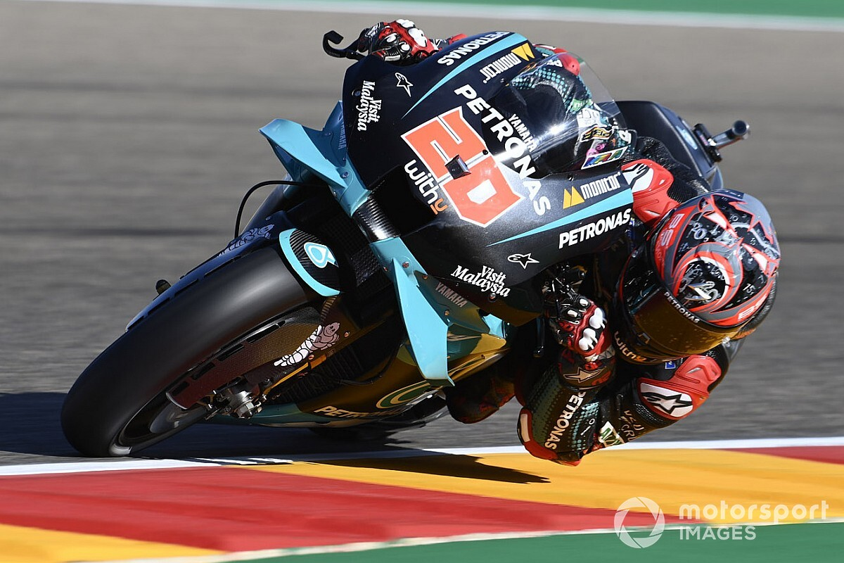 "Quartararo expects ""big potential"" Ducati comeback at Aragon"