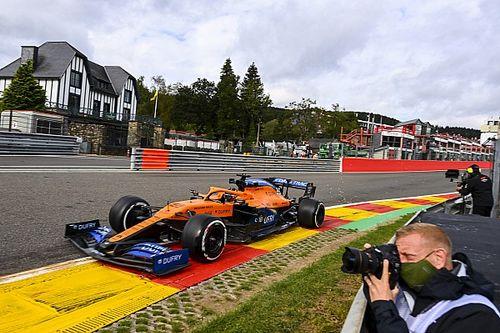 McLaren, 2021'de öne geçebilmek için yeni taban testine başladı