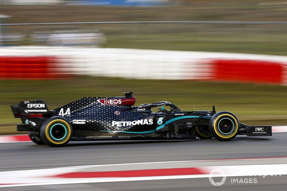 Mercedes: Op mediums starten in Eifel GP 'een grote gok'