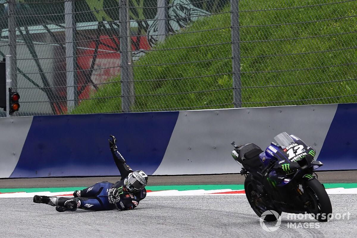 Vinales sem tud magyarázatot adni a drámai fékhibájára a MotoGP Stájer Nagydíja után