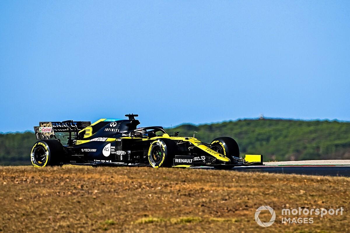 Ricciardo: Renault merkt tekort aan downforce op Portimao