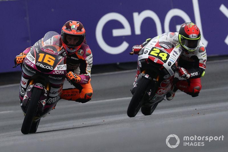 Moto3フランス予選:ミーニョ、天候急変もスリックタイヤでPP獲得。日本勢は鈴木が9番手最上位