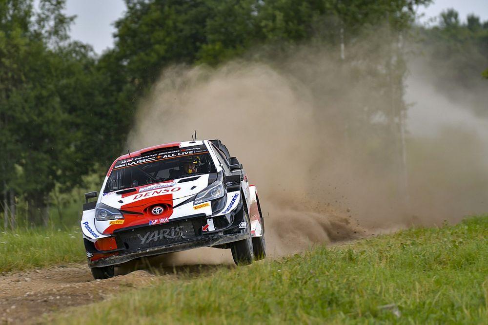 WRC, Rally Estonia, PS5: Katsuta KO. Rovanpera vola