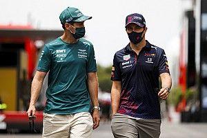 """F1: Ralf Schumacher critica Vettel e diz que ele deveria ser """"consistentemente mais rápido"""" que Stroll"""