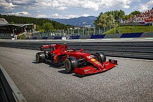 Bandengok van Ferrari in kwalificatie pakt verkeerd uit