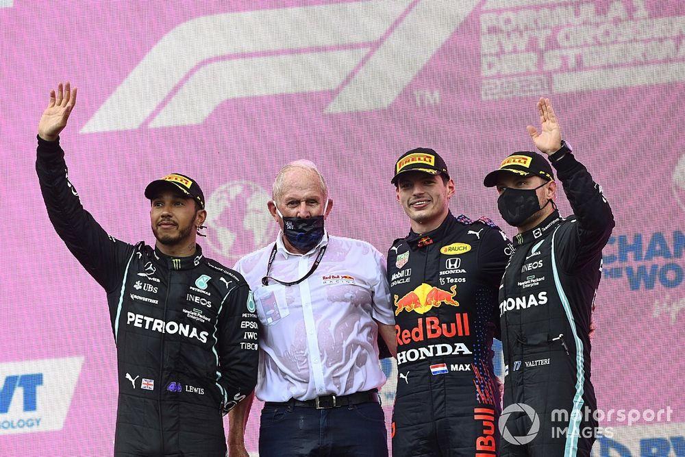 Hamilton: Het was onmogelijk om Verstappen bij te houden