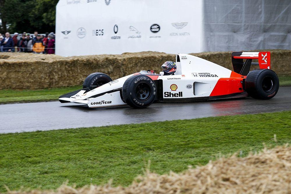 F1: Fittipaldi, Ricciardo e Norris pilotam McLarens de Senna em festival na Inglaterra; veja vídeos