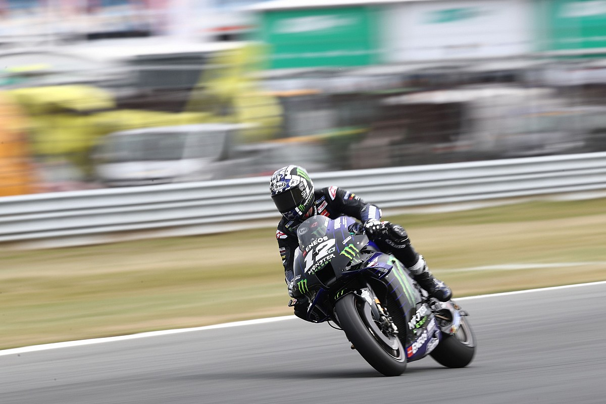 Assen Motogp Vinales Leads Espargaro Rins In Fp1