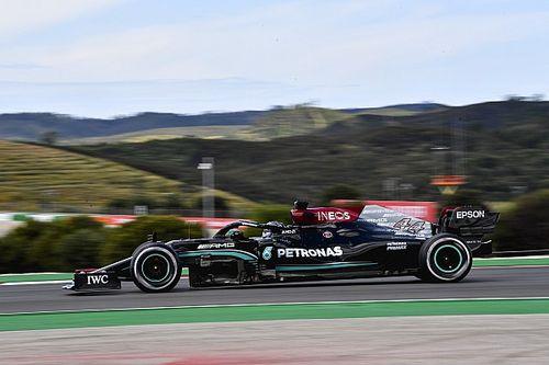 F1: Hamilton bate Verstappen e lidera TL2 mas Bottas é o mais rápido do dia em Portugal