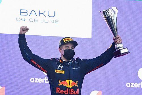 Estończyk wygrywa w Baku