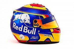 Kvjat és Albon új F1-es sisakfestése a Toro Rosso-Hondánál