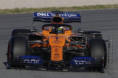 Test F1 Barcellona, Giorno 1: McLaren in testa con Norris. Ferrari e Mercedes primi problemi