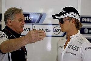 Quand Rosberg se faisait houspiller chez Williams