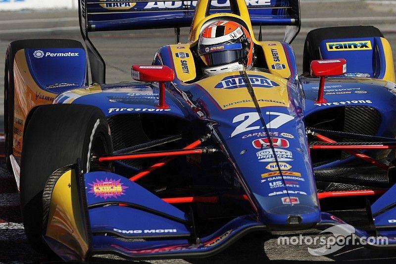 Qualifs - Alexander Rossi en pole!