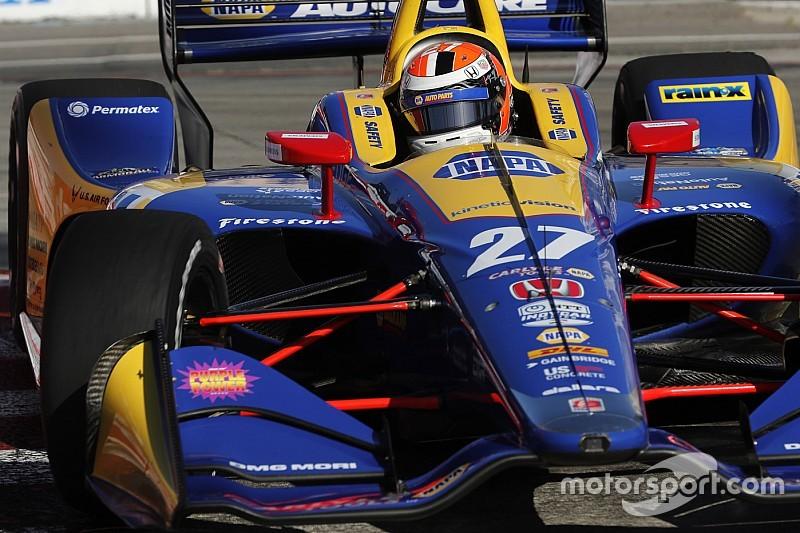 Rossi lidera treinos de sexta-feira da Indy em Detroit