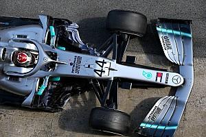Хэмилтон заметил различия в поведении старого и нового Mercedes