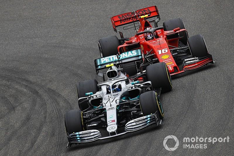 Mercedes redoute la puissance des Ferrari à Montréal