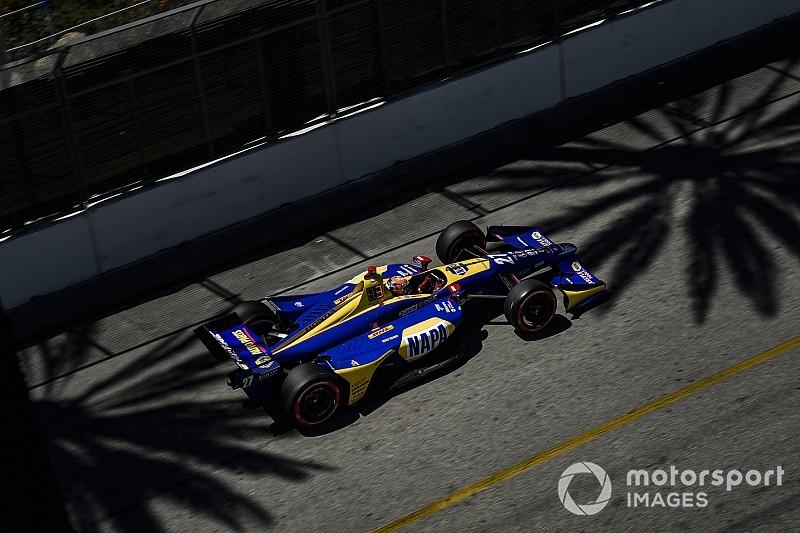 Rossi dedica la victoria de Long Beach a su abuelo fallecido