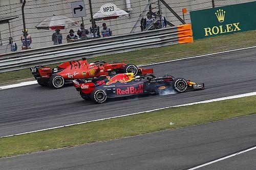 Vettel sudah prediksi manuver Verstappen