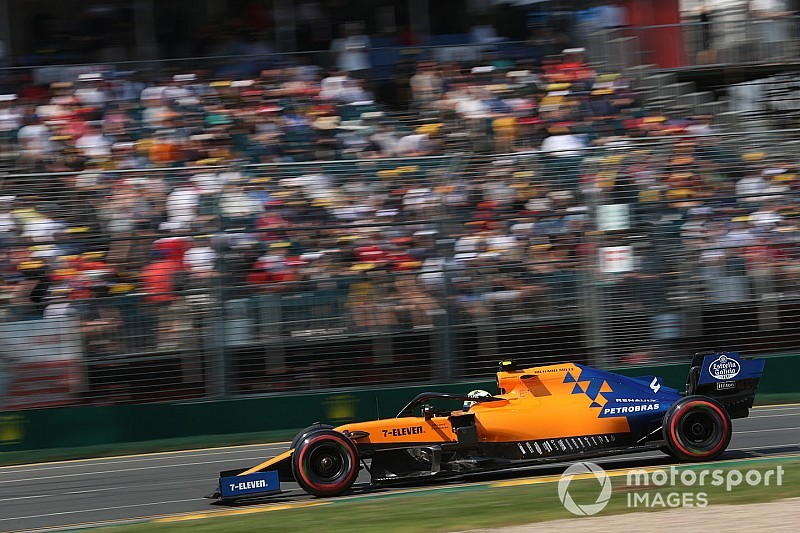 Norris wary of false expectations after Australia Q3 surprise