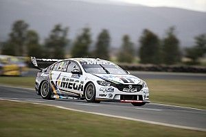 Tasmania Supercars: Luff beats Tander in co-driver practice