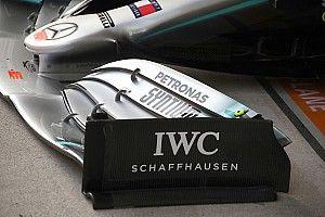 """A Mercedes első szárnyának betiltása """"megbolygatta"""" az aerodinamikát"""