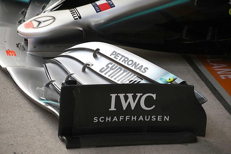 Переднє антикрило Mercedes виявилося незаконним?