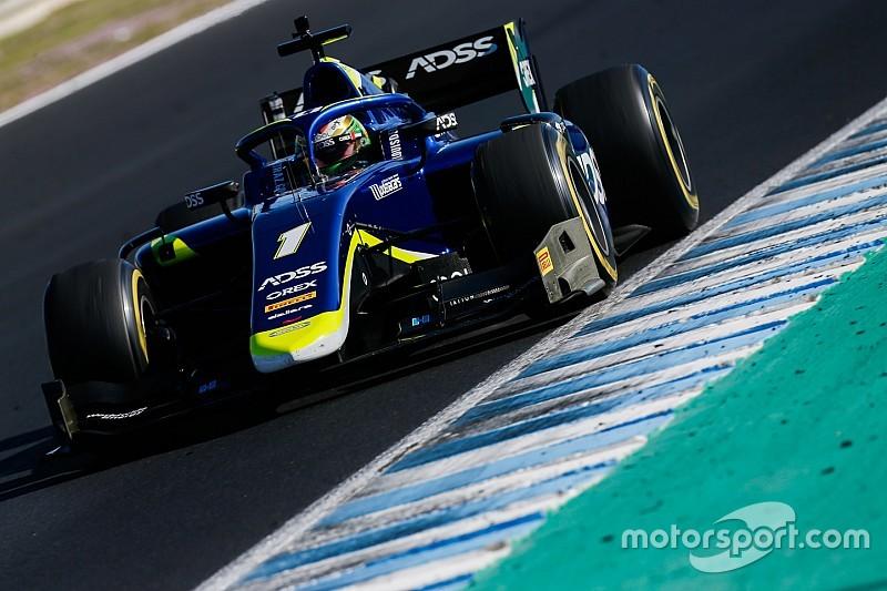 Diaporama : le Suisses Ralph Boschung, Louis Delétraz et Sauber Junior Team aux essais de Formule 2 à Jerez